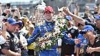 Alexander Rossi wins 100th edition of the Indy500