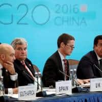 Global economy 'grim' and G20 must step up to fix it: China