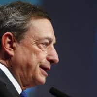 ECB's Draghi, Weidmann differ on inflation ahead of key decision