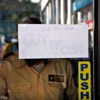 India's cash crunch making some in PM Modi's party anxious
