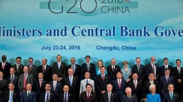 G20 growth vow keeps shares near 9-month high