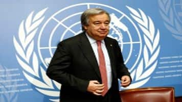 New UN chief urges New Year's resolution: 'Put Peace First'