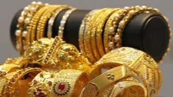 Gold futures decline 0.15% on global cues