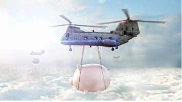 Bank of Japan may be the 1st to adopt 'helicopter money' policy