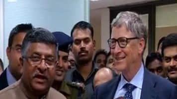 Gates meets Prasad; discusses digital inclusion, e-payments