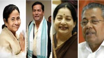 Assembly Elections 2016: Congress ousted in Assam, Kerala; Jaya, Mamata retain power