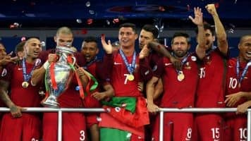 Portugal beat France to win Euro 2016
