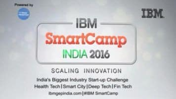 IBM SmartCamp India '16: The smart cities edition