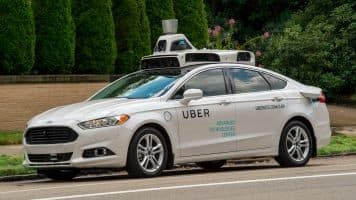 Uber's pilot rides its first self-driving car in Pittsburgh