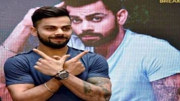 Kohli completes record double ton as India amass 620/6 at tea