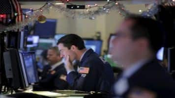 Pharma, bank stocks pull Wall Street lower