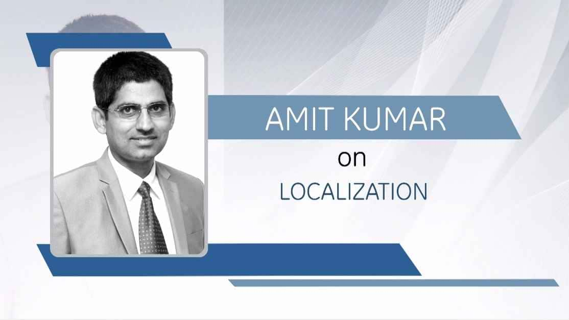 Amit Kumar on Localization