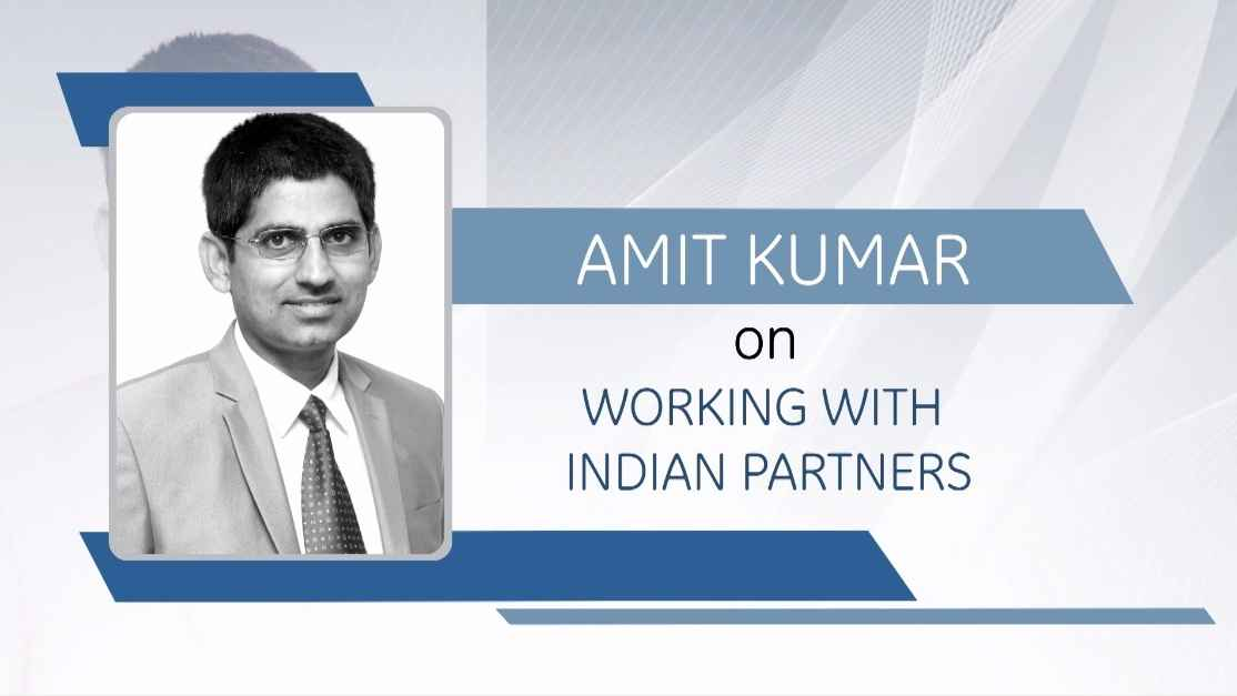 GE Step Ahead : Amit Kumar on working with India Partners