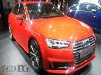 2016 Auto Expo: 2016 Audi A4 showcased
