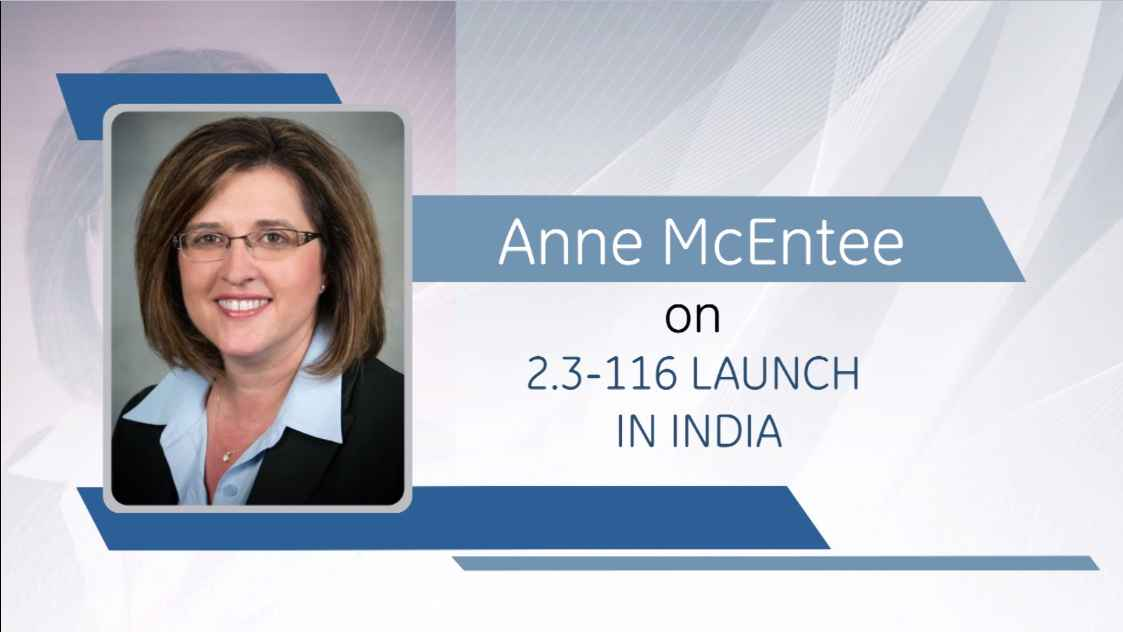 GE Step Ahead : Anne McEntee on the launch of new wind turbine in India