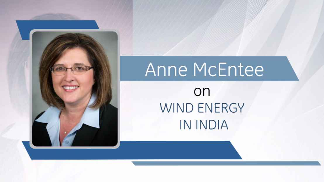 Anne McEntee on Wind Energy in India