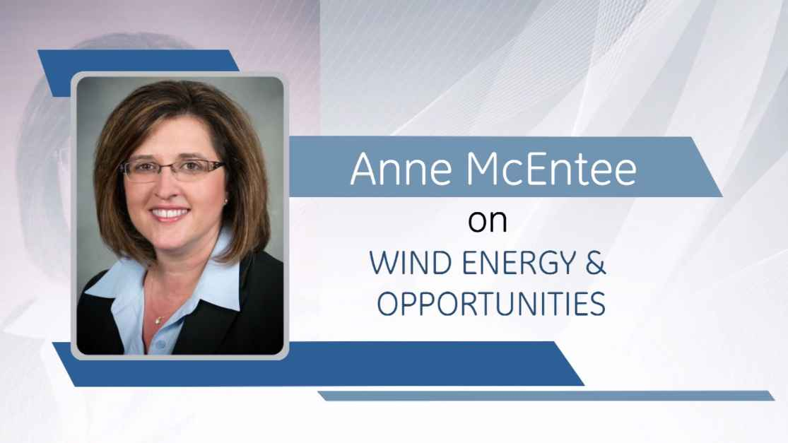 Anne McEntee on Wind Energy & Opportunities