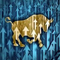 Nifty hits 7900, Sensex soars over 450 pts; banks, infra zooms