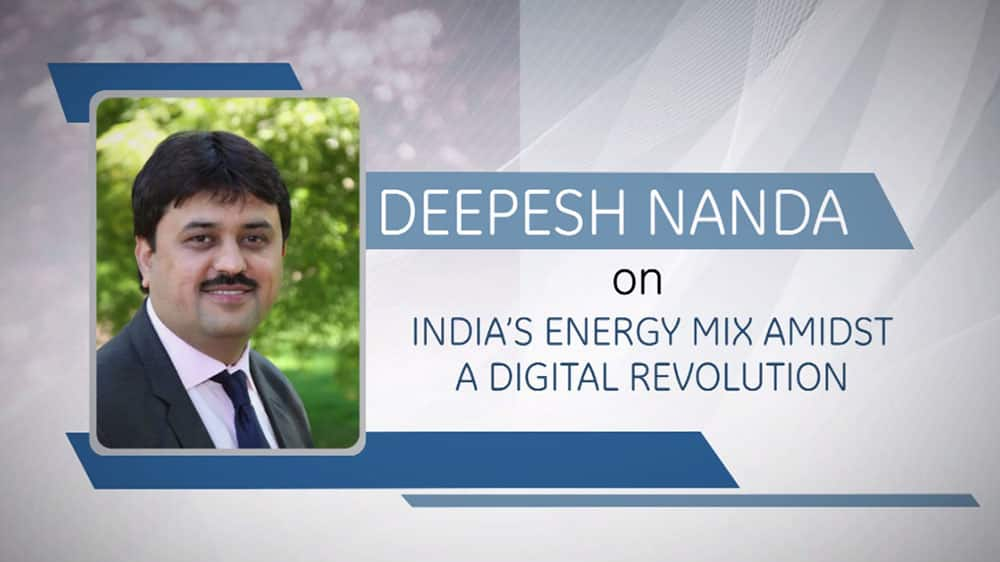 GE Step Ahead : Deepesh Nanda on India's energy mix amidst a digital revolution