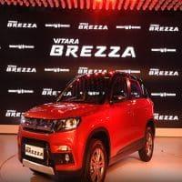 Maruti Suzuki Vitara Brezza launch kicks off Auto Expo 2016