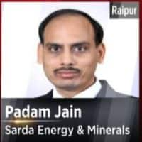 Expect 7-8% sequential jump in steel realisation: Sarda Energy