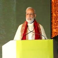 Modi attends Ramlila festivities, attacks Pak on terror