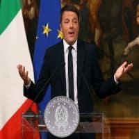 Italy's Matteo Renzi announces resignation