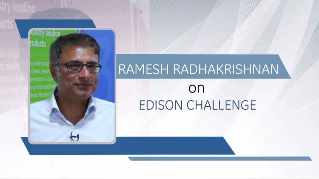 GE Step Ahead : Ramesh Radhakrishnan on Edison Challenge