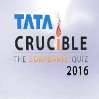 Watch Chandigarh Final of Tata Crucible Corporate Quiz 2016