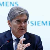 Siemens chief does not expect to be put under pressure by Trump