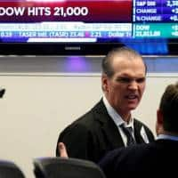 Dow crosses 21,000 threshold: facts & figures