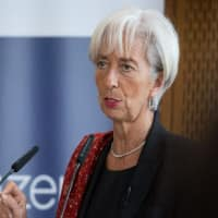 IMF 'pleased' to see 'rebalancing' in China's economy: Christine Lagarde