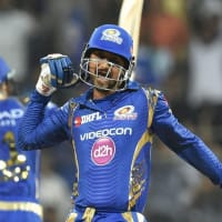 Pandya, Rana power Mumbai Indians to four-wicket victory against Sunrisers