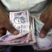 Indian rupee gains against USD after first round of French election