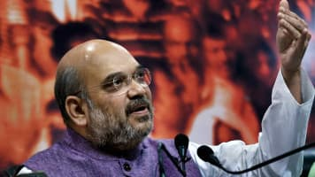 Shah meets Bhayyaji on UP CM probables; RSS may back Keshav Maurya