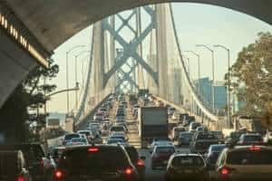 How urban traffic affects the property market