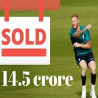 England's Ben Stokes and Tymal Mills laugh their way to the bank
