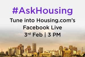 Housing.com to present a Facebook Live session on Current market trends for home buyers