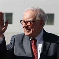 Warren Buffett enjoys playing salesman-in-chief