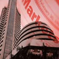 Sensex slips over 150 pts; heavyweights drag, IT supports