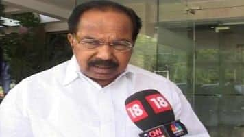 Cleared projects worth Rs 1.5 lakh cr: Veerappa Moily