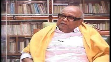 DMK chief M Karunanidhi hospitalised