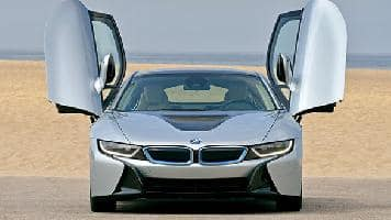 Bmw I8 Hybrid Electric Super Car Launched In India At Rs 2 29 Crore