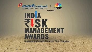 CNBC-TV18 honours biz leaders at Indian Risk Mgmt Awards