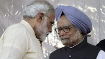 PM ridicules Rahul's remarks, counters Manmohan