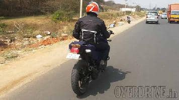 Spied: New TVS Apache RTR 180 spotted testing in India