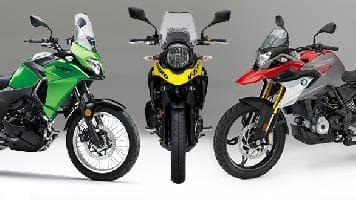 Spec Comparo BMW G 310 GS Vs Kawasaki Versys X 300 Suzuki V Strom 250