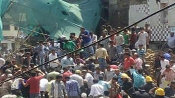 Two killed in Mumbai building collapse, many trapped