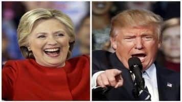 Donald Trump, Clinton neck and neck after splitting key states