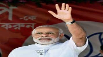 Modi targets Sonia, Congress over chopper scandal